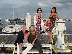 Helen melchior, chris long and chuck and candace jordan