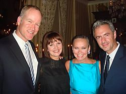 Lv-table 52-nordstrom 12 pete nordstrom, francine turk, candace and daniel lalonde