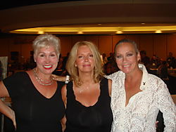 Rhonda sanderson, janet lupo november 75 playmate and me