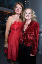 Christine ott and women's board president kathleen klaeser
