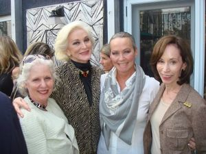 Barbara kipper, carmen, me and helen melchior