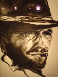 Clint eastwood for francine's husband (not for sale)