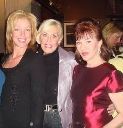 Diane Geiger, Dorothy Whealan and Jolanta Ruege