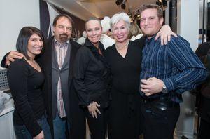 Alexis Mattera, John Amato, me, Rhonda Sanderson and Remy Vaudelle