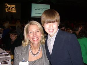 Ann Danner Dwyer and her son John Dwyer 2