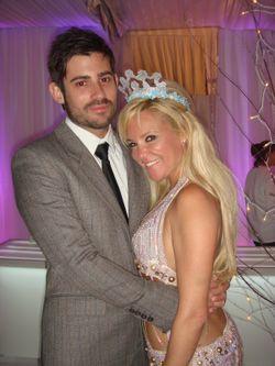 Bridget Marquardt and her boyfriend