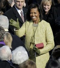 Michelle in isabel toledo