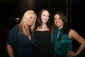 Sarah Vargo, event organizer, Joy Di Naro and Jen Knoedl diva segment one