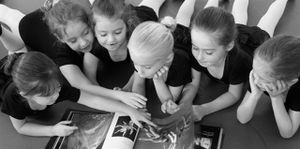 Joffrey school photo by Herbert Migdoll