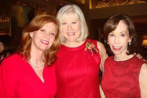 Liz Sharp, Noren Ungaretti and Helen Melchior 2