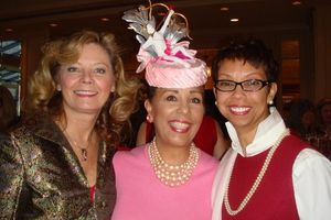 Peggy Jester, Laurie Davis and Lori Daniels