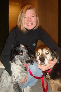 Paws - Joann Greene with Twister and Glenda 2