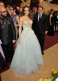 Oscars - sjp in dior haute couture