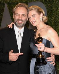 Oscars - kate winslet and sam mendes