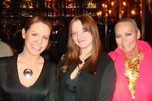 Factio - Christine Sanderson, Melissa Maynard de Kerch and me at Factio 1