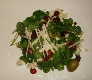 Loftin's watercress salad