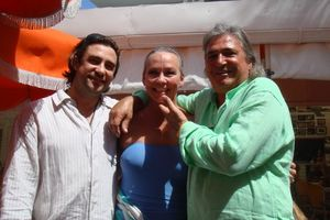 2 - Manager Alex M. , me and owner Robert Pascal