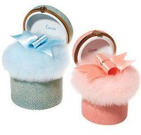 Caron powder puffs