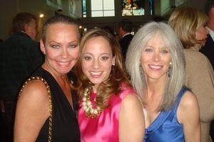 Blog 5 - me, CT Executive director Linda Novick O'Keefe and co-chair Katherine Chez