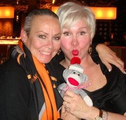 Me and rhonda sanderson