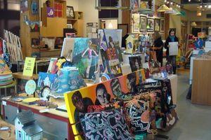 Blog - inside Gallery 37 store