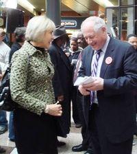 Blog - Brenda Sexton and Governor Quinn
