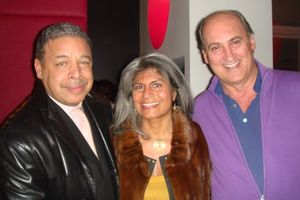 Michael and Diana Palomar Scott with Bruno Abate at Tocco