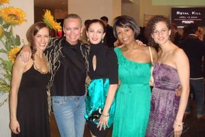 Blog 10 - Joffrey dancers Megan Quiroz, me, April Daley, Erica Lynette Edwards and Alexis Polito