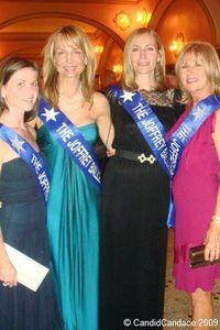 Blog 4 - Gala Hostesses Jessica Steffenson, Astra Gamsjaeger, Heidi Keeling and Marjorie Habermann