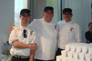 Blog 8 - Chef Graham Elliot Bowles and crew at the VIP Reception