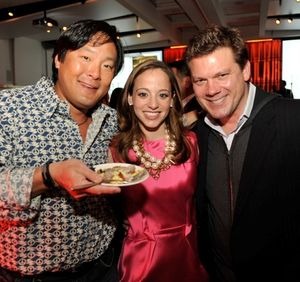 Blog 12 - Chef Ming Tsai, Linda Novick O'Keefe and Chef Tyler Florence