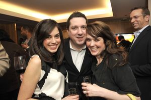 Blog 25 - Nicole Serr, Patrick Hatton and Amanda Puck at the VIP After-Party