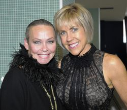 Blog 2 - Me with Chicago Link Production's Brenda Sexton