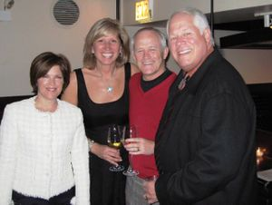 Blog 4 - Jan Reardon, Marty Wilke, John Reardon and Chuck