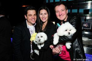 Blog 1 - Bruce Haas, Christine Rezagholi with Pixie and Phillip Emigh with Genevieve