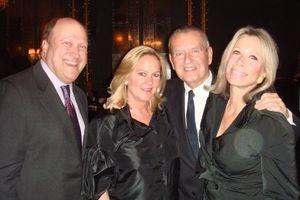 Blog 3 - MC Bill Zwecker, Leslie Hindman, Michael Kutza and Judy Niedermaier