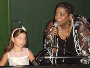 Blog 15 - Pianist Emily Bear and diva Lynne Jordan