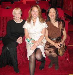 Blog 5 - Katherine Gehl, Anne Wedner and Grace Tsao-Wu in the White House theater