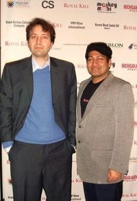 Blog 1 - Royal Kill writer-director Babar Ahmed and event co-host Joey Majumdar