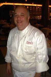 Blog 24 - Fred's Head chef Mark Strausman