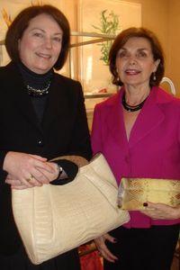 Blog 2 - Kate Benson and Marina Tater with Gonzalez handbags