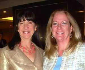 Blog 6 - Lisa Leiden and WB president, Kathleen Klaeser