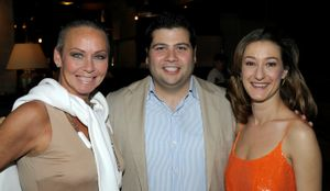 Gallery - Me, co-host and owner of Hub 51, RJ Melman and Paula