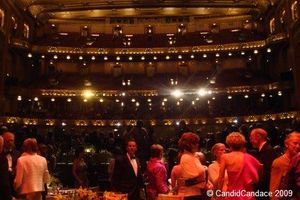 Blog 2 - Dining on stage at the Civic Center