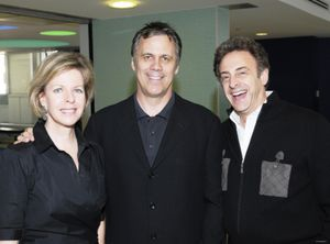 Blog 1 - Karen Vock, movie critic Richard Roeper and John Scheinfield