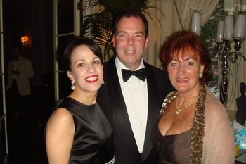 Blog 6 - Mr. and Mrs. Peter Martino and friend