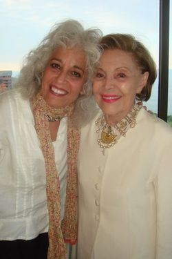 Blog 8 - Margo Rush with Barbara's mom, Dorris Carr Bonfigli