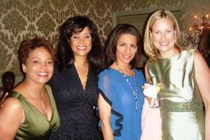 Blog 3 - LeeAnn Trotter, Sandy Jackson, Marian Brooks and friend