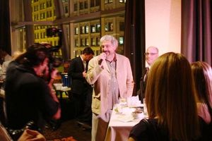 Blog 5 - Harold at the Wit after party