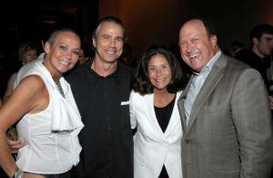 Blog 7 - Me, Howard Tullman, Barbara Pollack and Bill Zwecker